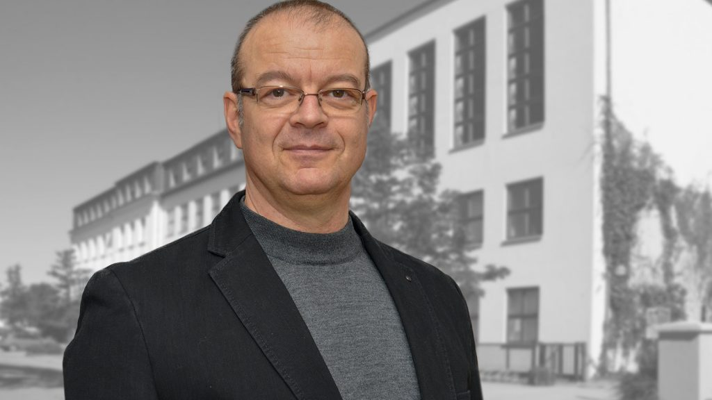 Prof. Dr. Stephan Mühlig, Inhaber der Professur Klinische Psychologie und Psychotherapie der TU Chemnitz und Leiter der Raucherambulanz Chemnitz sowie der Psychotherapeutischen Hochschulambulanz (PHA-TUC GmbH). Fotografik: TU Chemnitz/Jacob Müller