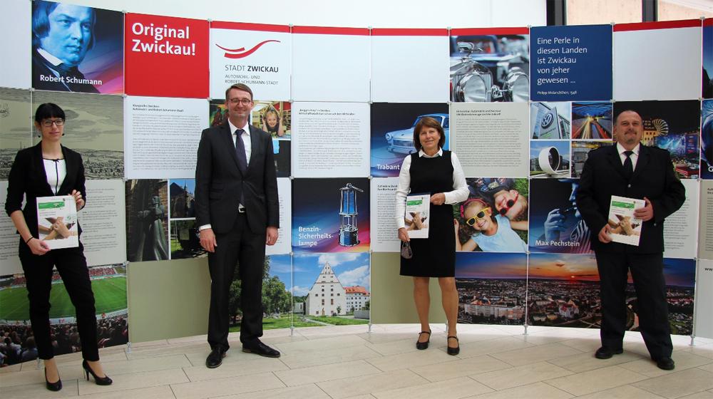 Anja Herold Beckmann,_Prof Dr Roland Wöller, Dr Pia Findeiß_und Renè Demmler
